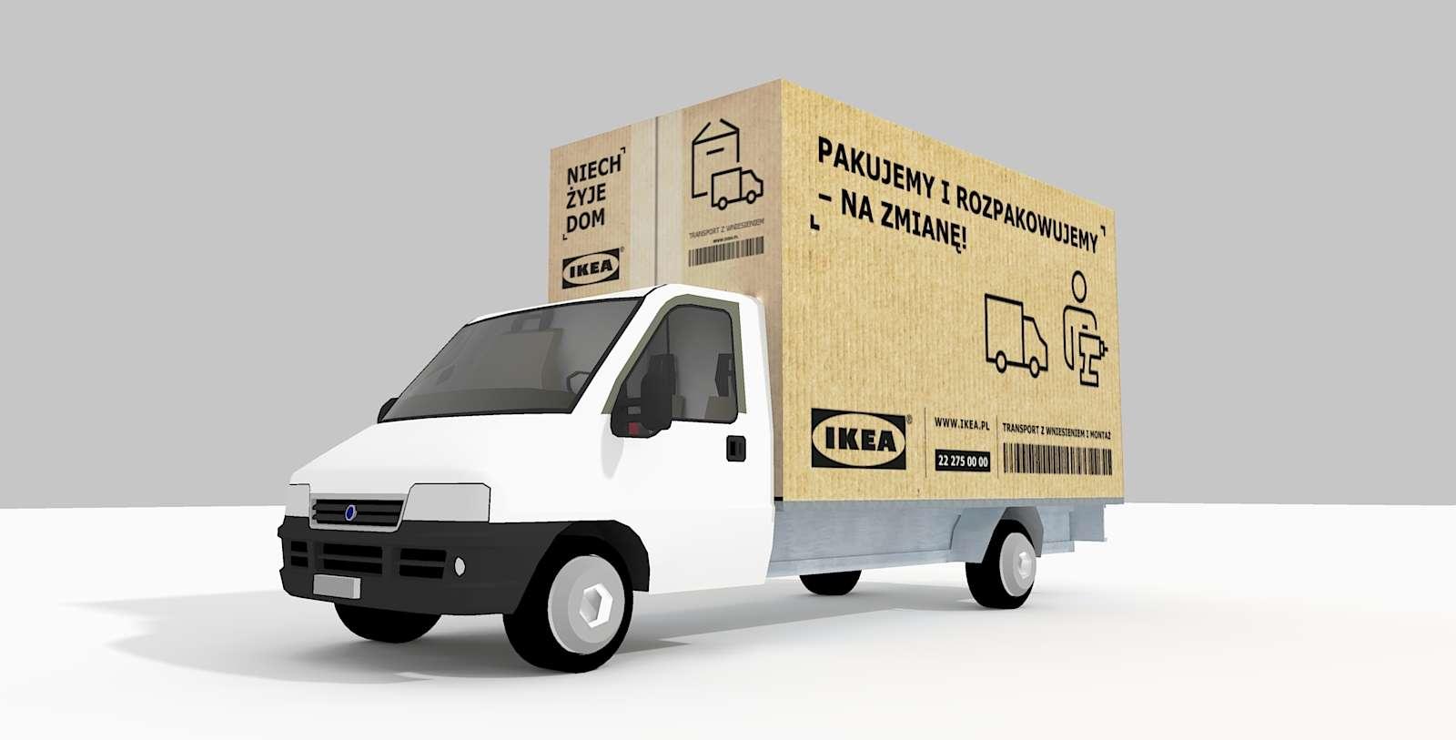IKEA Van Kfz Lieferwagen Front